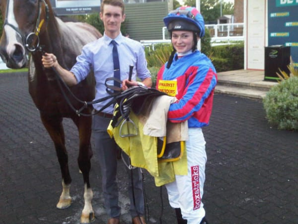 Boxatricks Sponsors Leading Lady Apprentice Jockey.